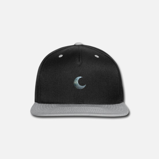 Tree Caps - Chilly forrest night - Snapback Cap black/gray