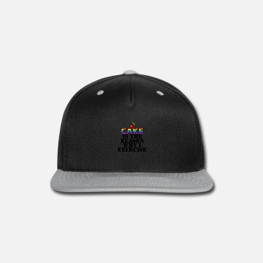 Cake Cake - Snap-back Baseball Cap