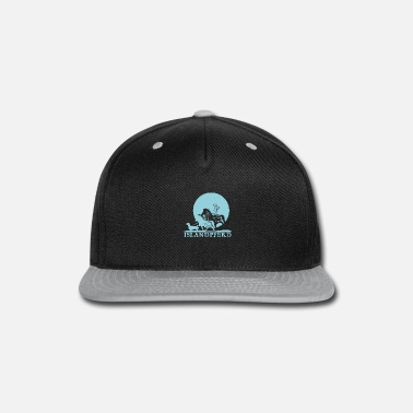 Girl Icelandic Horse: Pony Merch - Snap-back Baseball Cap