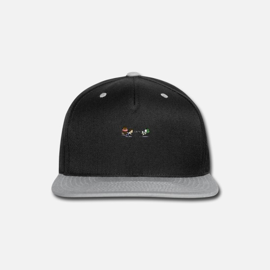 Game Caps - Han Snowlo - Snapback Cap black/gray