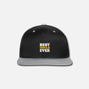 ad4ae77f191 Everlasting Life Best Uncle Ever - Snapback Cap