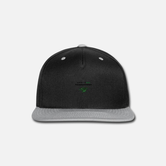 Patty Caps - St patricks - Snapback Cap black/gray