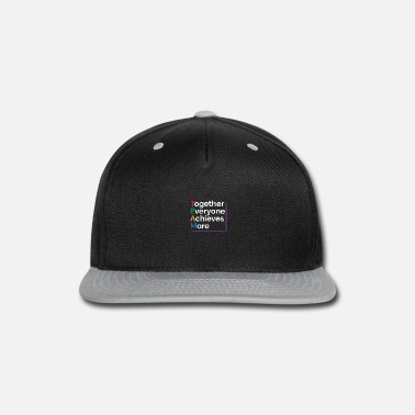 Hockey Girls TEAM Together Everyone Achieves More Motivational - Snapback Cap