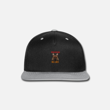 French Bulldog Polygon lying - Snapback Cap