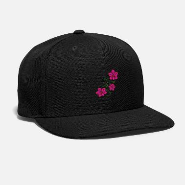 Tattooing Hawaii Orchids Tattoo Flower Lover Gift Idea - Snapback Cap