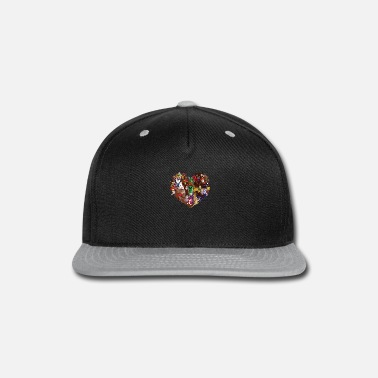 Villain Villains Heart - Snap-back Baseball Cap