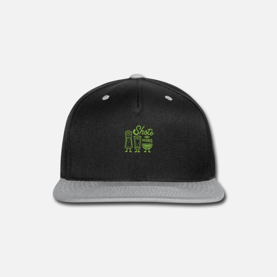 Game Caps - Shots With Friends - Snapback Cap black/gray