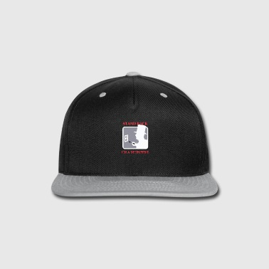 Stand STAND BACK - Snap-back Baseball Cap