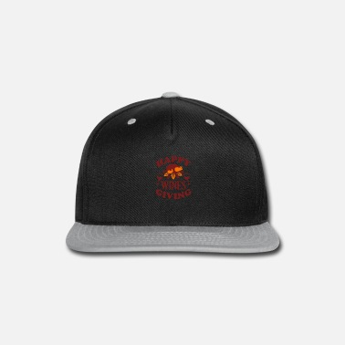 Wine Happy Wines Giving - Snap-back Baseball Cap