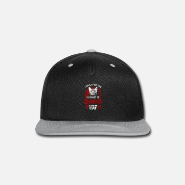 Front Would Push You In Front Of Zombies - Snapback Cap