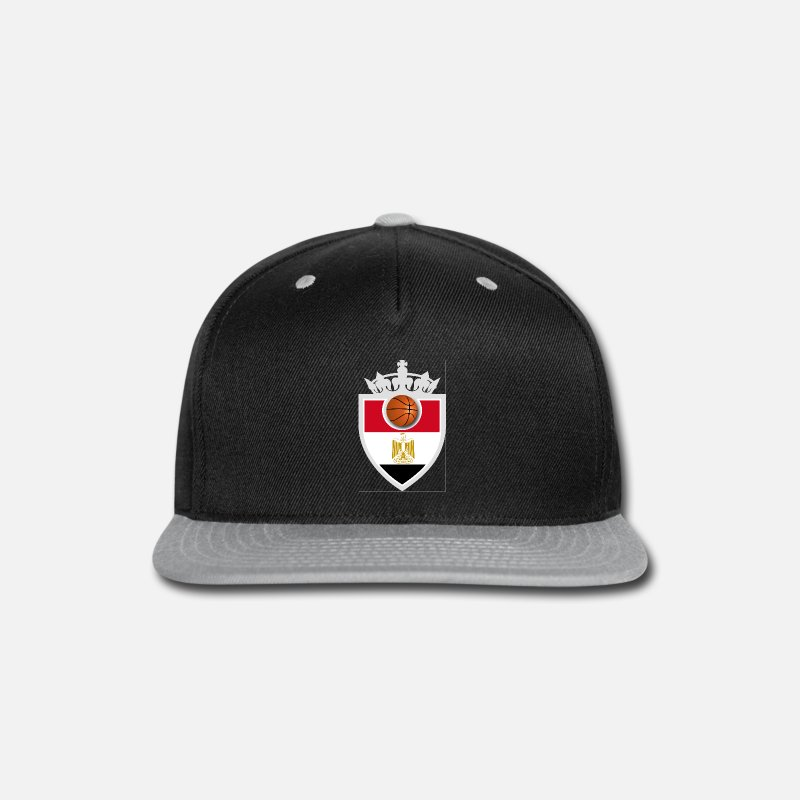 Basketball Caps - Egypt Basketball - Snapback Cap black/gray