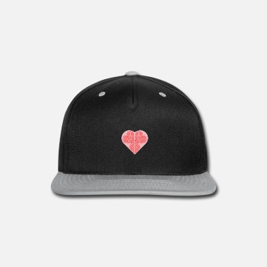 heart in heart shapes light valentine's day gift - Snapback Cap