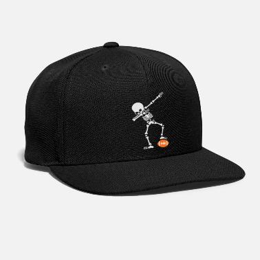 Rugby Dab dabbing skeleton rugby - American football - Snapback Cap