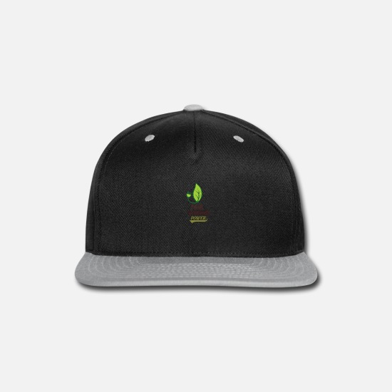 Music Caps - Fair Dinkum power - Snapback Cap black/gray