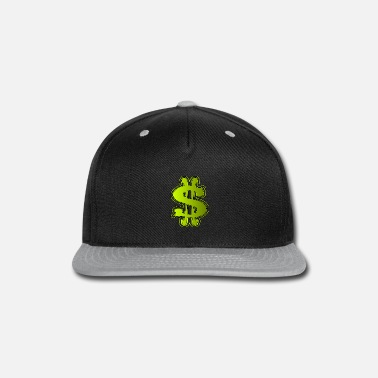 Dollar Sign dollar sign money cash banknote - Snapback Cap