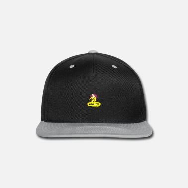 Banana Peel the banana - Snapback Cap