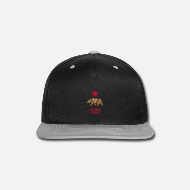 California Republic California Republic - Snapback Cap
