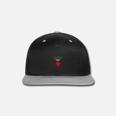Hemp Cannabis helps! - Snapback Cap