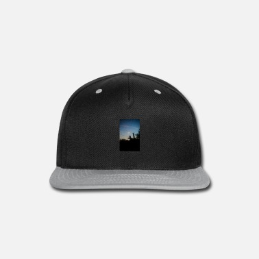 Piece Pieced moon - Snap-back Baseball Cap