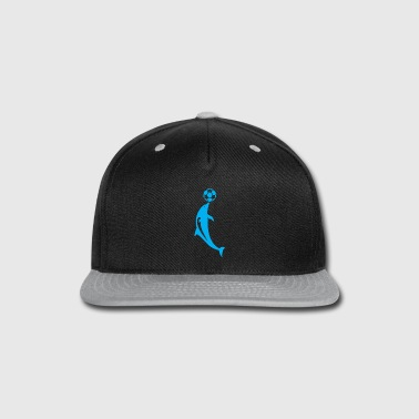 Attractive dolphin attraction - Snap-back Baseball Cap