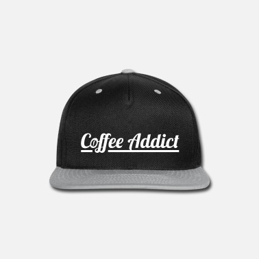 Coffee Bean Coffee Addict Design with Coffee Bean Illustration - Snapback Cap