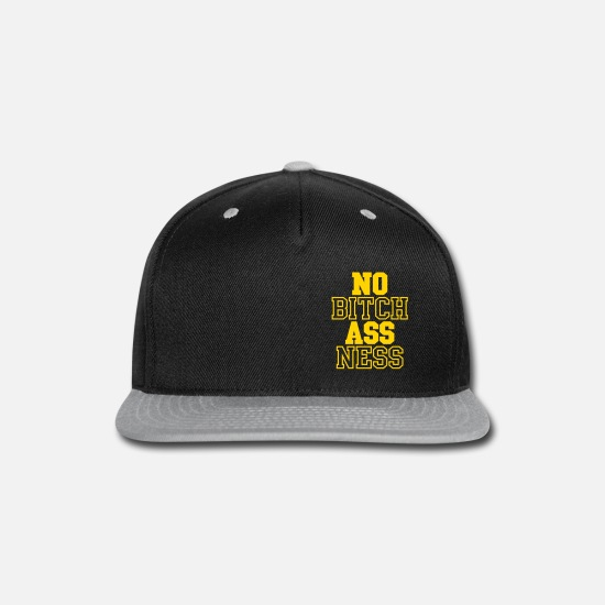 competitive price 33bf1 a872f Snapback CapNo Bitch Ass Ness (1 Color)
