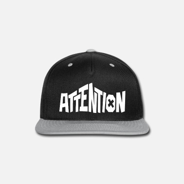 Attention Deficit Disorder Attention style - Snap-back Baseball Cap