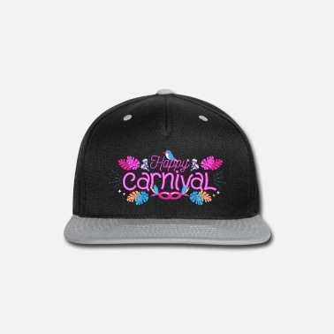 Move Carnival Mardi Gras saying celebration camels - Snapback Cap