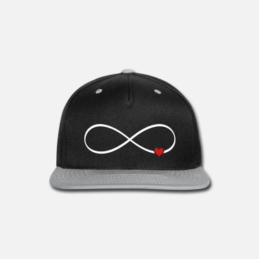Infinity infinity heart love lemniscate gift idea - Snapback Cap 8ed7201b92c