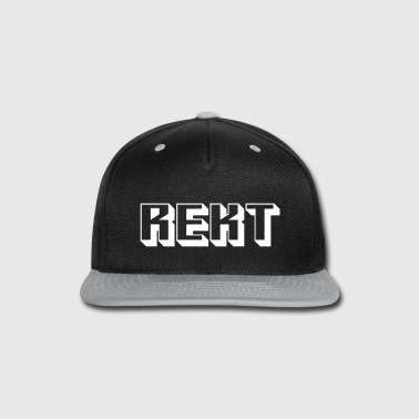 Rekt - Snap-back Baseball Cap