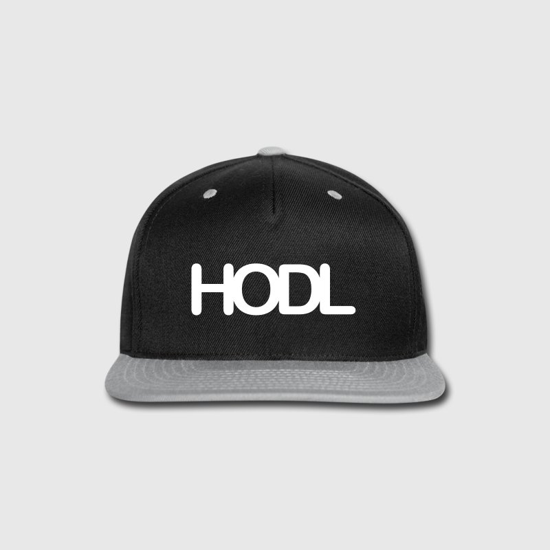 HODL - Snap-back Baseball Cap