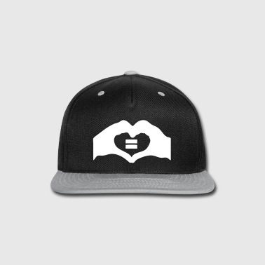 marriage equality - Snap-back Baseball Cap