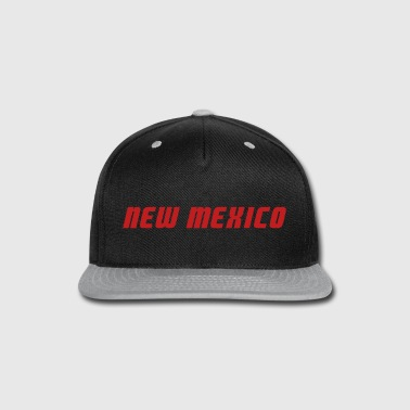 New Mexico - Snap-back Baseball Cap