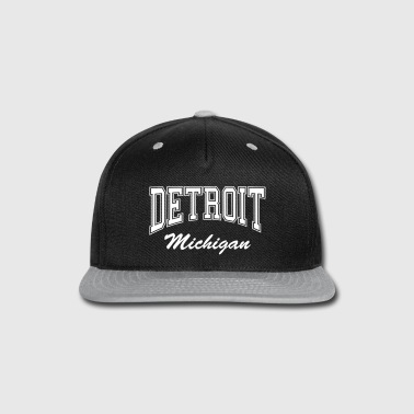 Detroit Michigan - Snap-back Baseball Cap