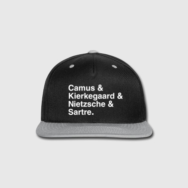Existential Philosophers - Snap-back Baseball Cap