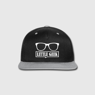 Matching Father Son Little Geek - Snap-back Baseball Cap