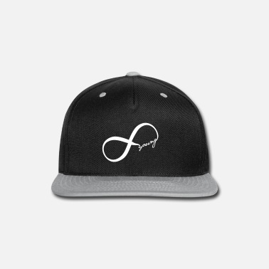 Hipster infinity young - Snap-back Baseball Cap