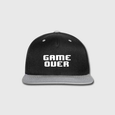 Undertale GAME OVER - Snap-back Baseball Cap