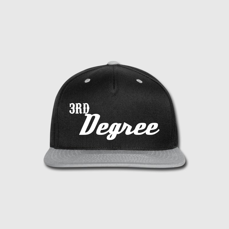 3rd Degree logo  - Snap-back Baseball Cap