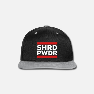Shredded Shred Powder - Snap-back Baseball Cap