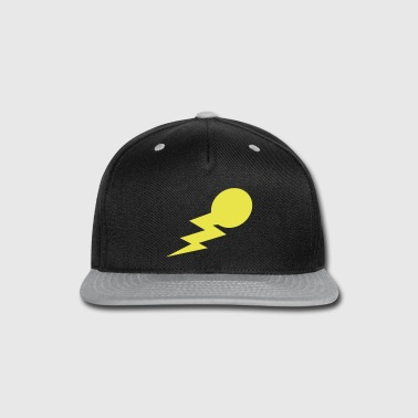 lightning bolt comet with a tail - Snap-back Baseball Cap