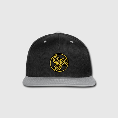 Spiral Celtic Viking Rune - Snap-back Baseball Cap