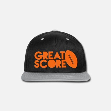 Ball great score! Rugby AFL long ball - Snap-back Baseball Cap