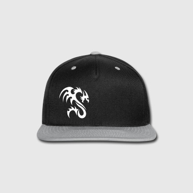 Tribal Dragon - Snap-back Baseball Cap
