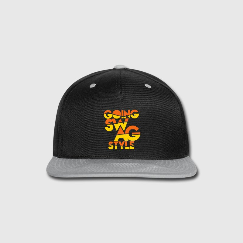 GOING SWAG STYLE two color - Snap-back Baseball Cap