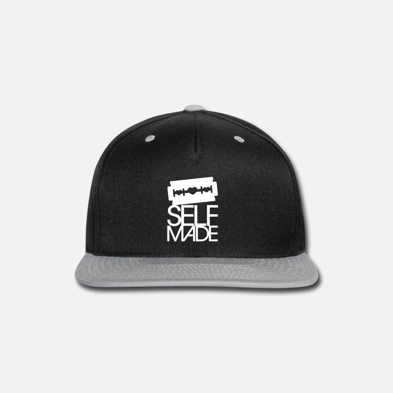 Razor Caps - Self Made - Snapback Cap black gray d5ae217ade7
