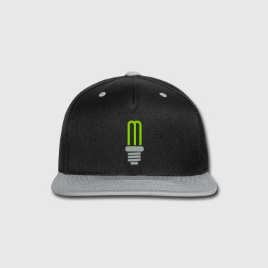 light bulb - sparl lamp - energy - Snap-back Baseball Cap