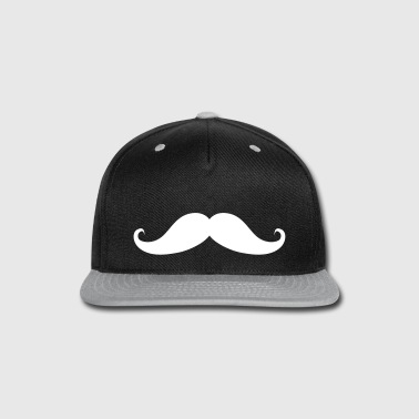 Moustache Beard Mustache - Snap-back Baseball Cap