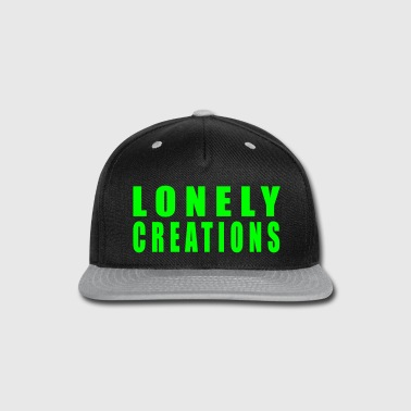 Lonely creations black - Snap-back Baseball Cap