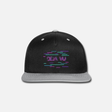 Backwards deja vu with GLITXH - Snapback Cap